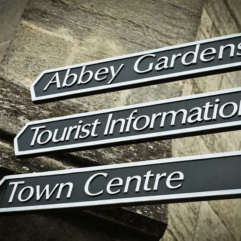 abbey-garden-sign