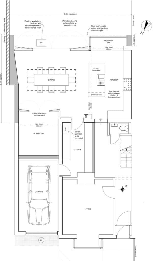 Horringer Road_GF Plan