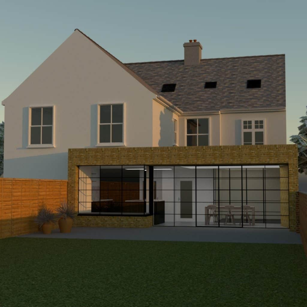 Horringer Road Render