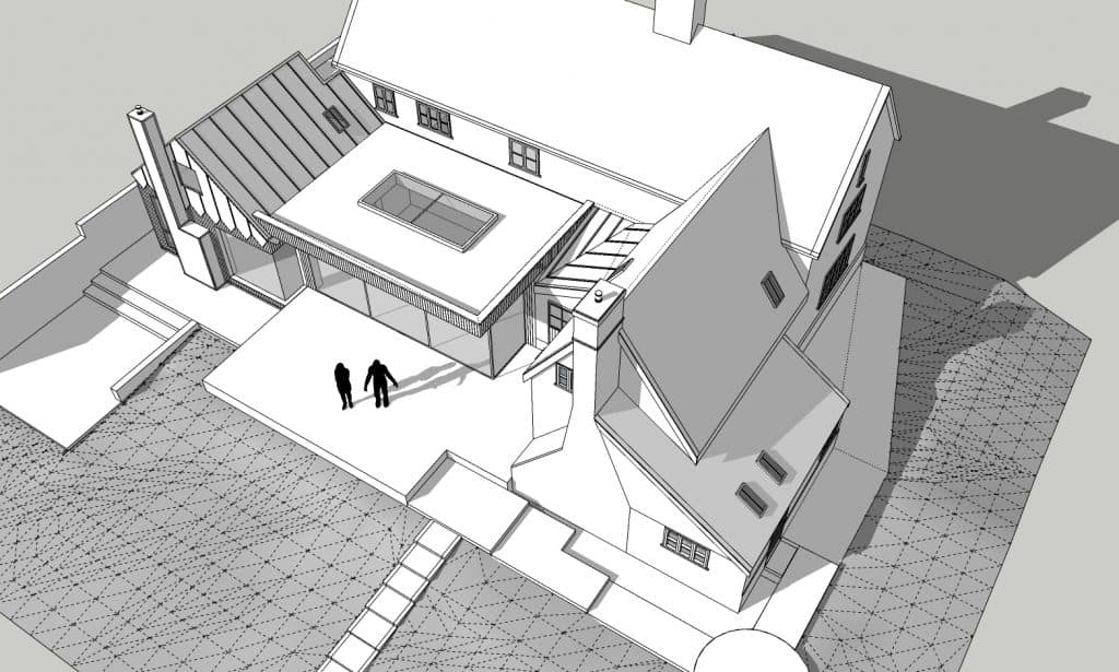 Willow Farm Sketchup Model_View 1
