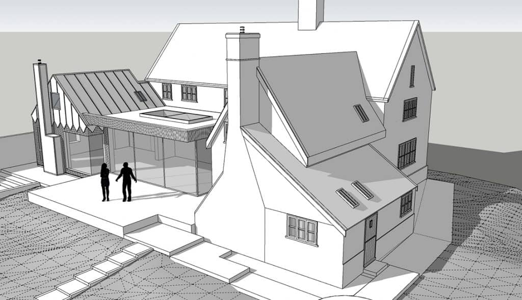 Willow Farm Sketchup Model_View