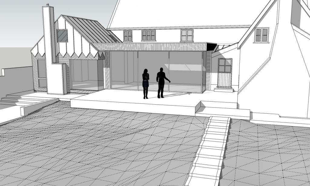Willow Farm Sketchup Model_View 3