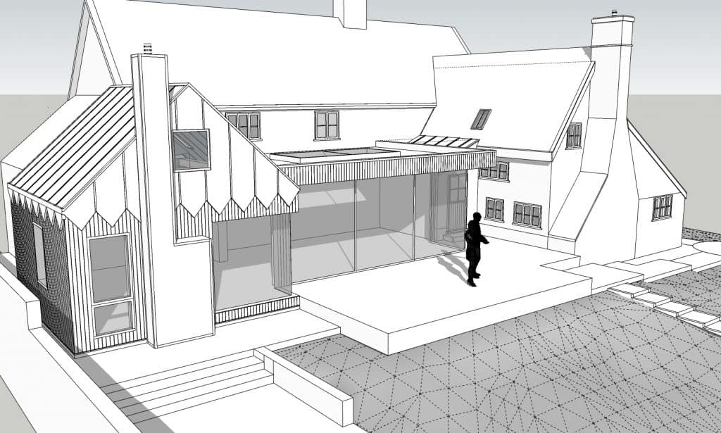 Willow Farm Sketchup Model_View 4